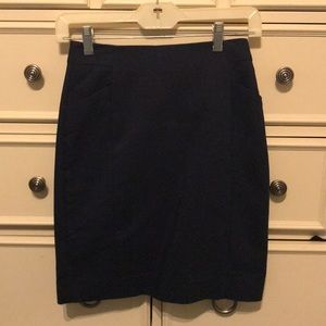 Dresses & Skirts - Navy Blue H&M Skirt